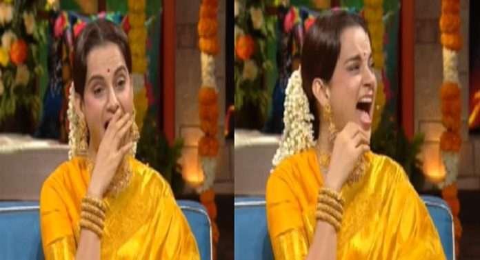 The kapil sharma show kapil sharma and krushna abhishek make fun with  thalaivi kangana ranaut