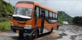 potholes on mumbai goa highway