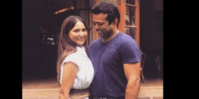 kim sharma makes her relationship with leander paes insta official