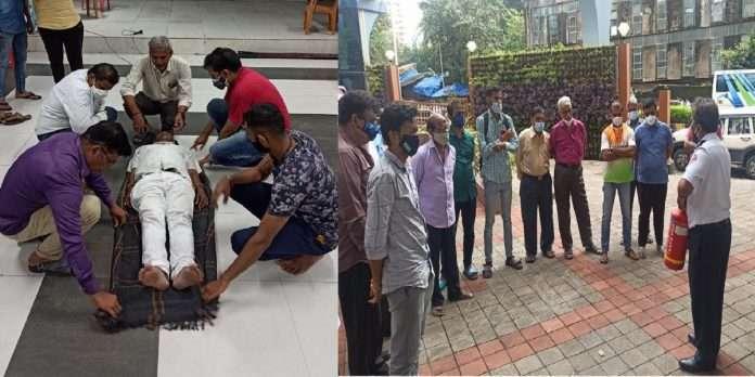 ganesh chaturthi 2021 bmc emergency security training for ganeshotsav boards
