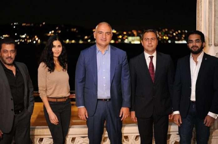 Tiger 3 stars Salman Khan, Katrina Kaif meet Turkish Culture and Tourism Minister in Istanbul