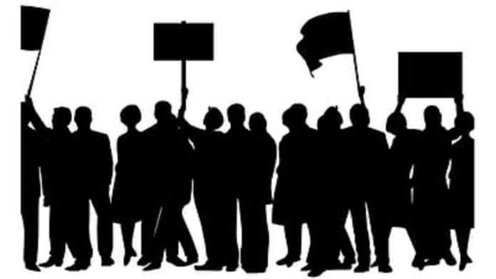 Warning of agitation class d employees if dearness allowance is not paid