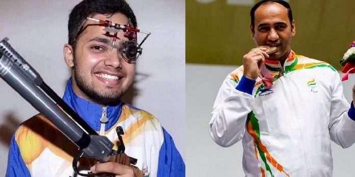 Tokyo Paralympics 2020 manish narwal and singhraj adhana wins gold and silver medal shooting
