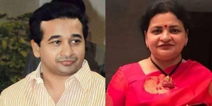 A look out circular has been issued against Nitesh Narayan Rane and Nilam Rane