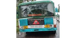 11 injured in ST accident, accident in Shindekond village of Mahad taluka