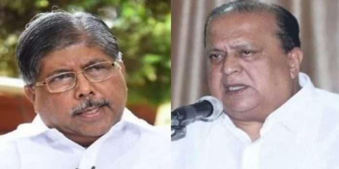 Chandrakant Patil and HAsan Mushriff