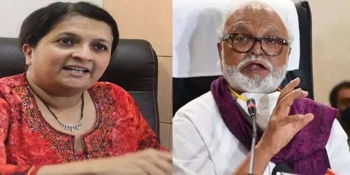 Chhagan Bhujbal and Anjali Damania
