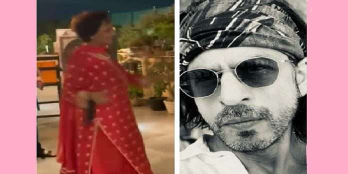bollywood shahrukh khan react on his mother in law dance video says i need to learn dancing from her