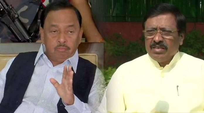 Narayan Rane and Vinayak Raut