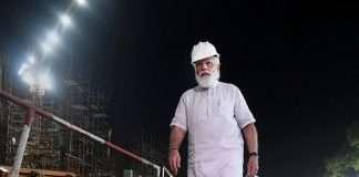 congress leader Srinivas BV slams modi on photoshoot in the Central Vista