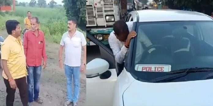 Shiv Sena MLA Sanjay Gaikwad slap a drunken police officer