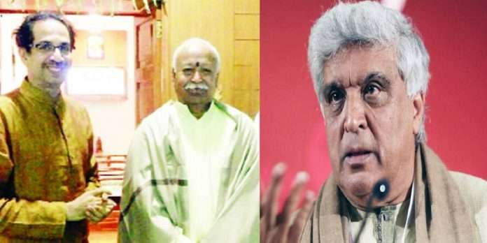 Shiv Sena slams Javed Akhtar over RSS-related statements