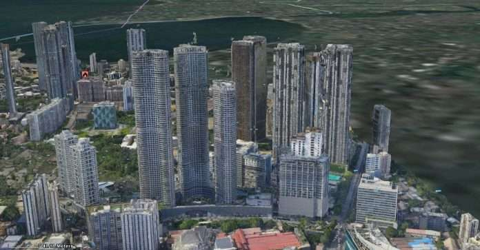 The first 3D mapping project in Mumbai