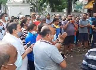 mns leader sandeep deshpande met mayor kishori pednekar demands on opne mahatma gandhi swimming pool in dadar