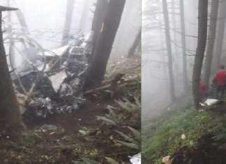 jammu kashmir helicopter crashes in shivgarh dhara in udhampur two Pilots Injured