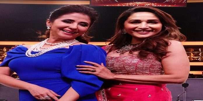 madhuri dixit and urmila matondkar fance on dance diwane 3 show