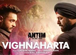 antim movie vighnharta song releases