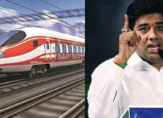 avinash jadhav warn thackeray government on bullet train issue