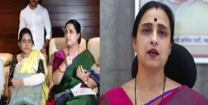 Chitra Wagh's reaction to the case of beating of a female sarpanch