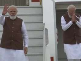 PM Narendra Modi departs from New Delhi for a 3-day visit to US to attend the first in-person Quad Leaders' Summit