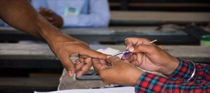 Registration of new voters is arranged by any person in India