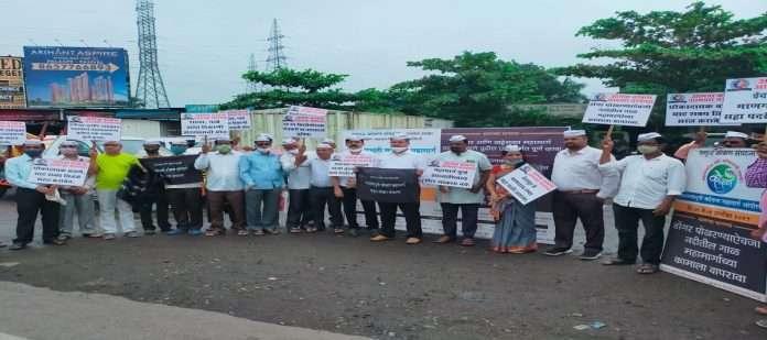 Mumbai goa highway agitation