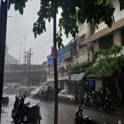 Raigad district warned of heavy rains for next three days