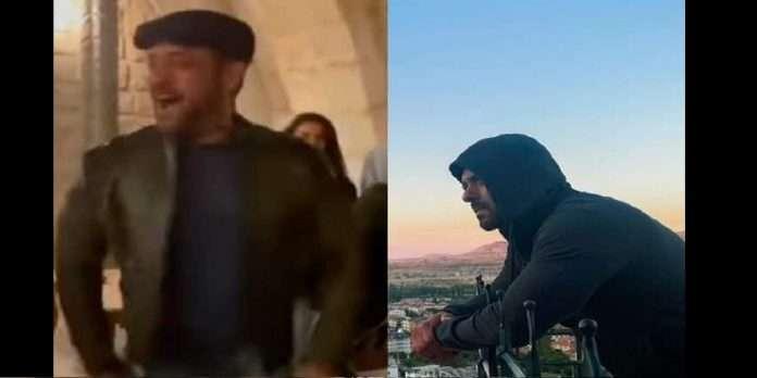 Salman Khan Dancing To Jeene Ke Hain Chaar Din In Turkey