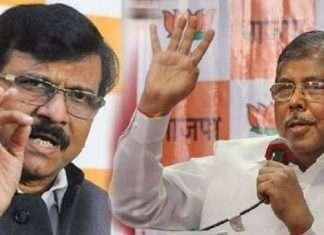 chandrakant patil letter bomb Chandrakant Patil slams sanjay raut on ED notice in Rs 50 lakh scam