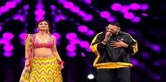 Shilpa shetty dance with badshah on genda phool song
