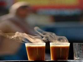 By heating the tea twice is unhealthy for health
