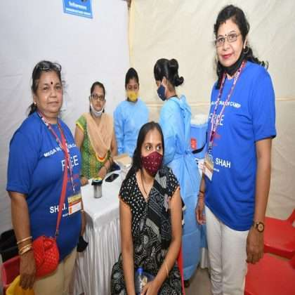special vaccination drive arranged for only women madhav baug