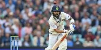 Virat Kohli's record of 10,000 runs in first-class cricket
