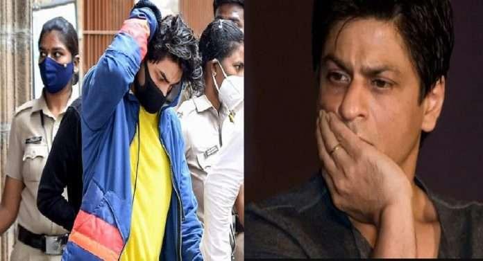 Aryan Khan mumbai drugs case bollywood actor shahrukh khan reach arthuhr road jail to meet aryan khan