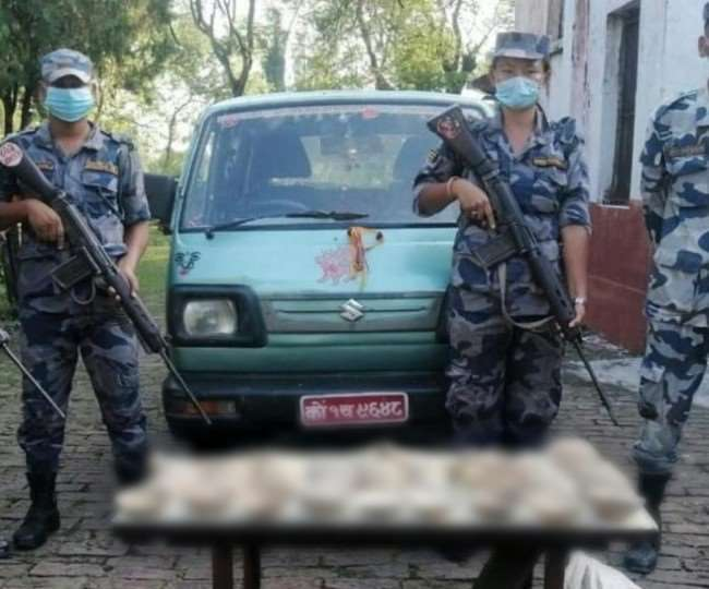 Human skeleton recovered from Indo-Nepal border, atmosphere of sensation in Jogbani