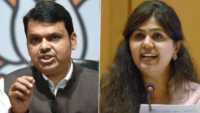 bjp leader pankaja munde reaction after devendra fadnavis controversial statement