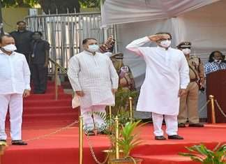 Police commemoration Day: Chief Minister Uddhav Thackeray and Ajit Pawar pay homage to martyred police