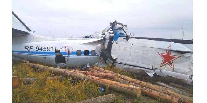 russian plane crashes in region of tatarstan killing 16 people and 7 injuring