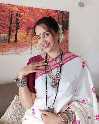 navratri 2021 sai lokur dandiya nihght photos viral on social media