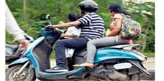 Government Proposes 40-Kmph Speed-Limit for Motorcycles with Child Pillion Passenger