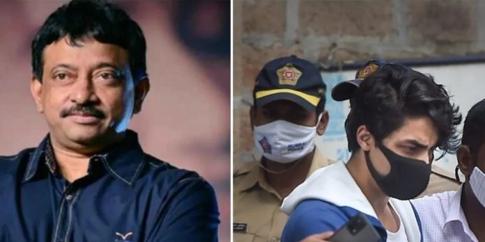Aryan Khan ram gopal varma said jai ncb for made shahrukh khan son super duper star