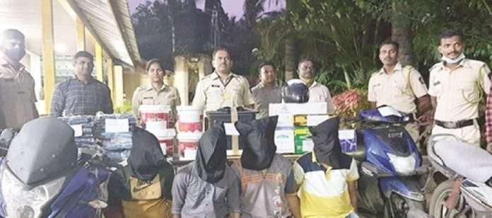 Alibaug: Burglary gang arrested in Alibag
