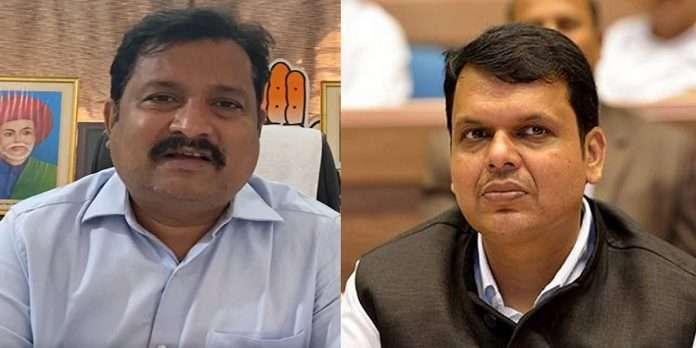 Atul Londhe and Devendra Fadnavis