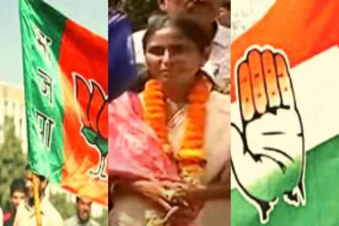 Congress candidate Sulochana Dhok wins in Nagpur Zilla Parishad