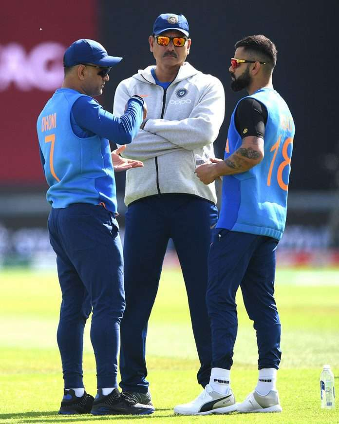 M S dhoni as mentor