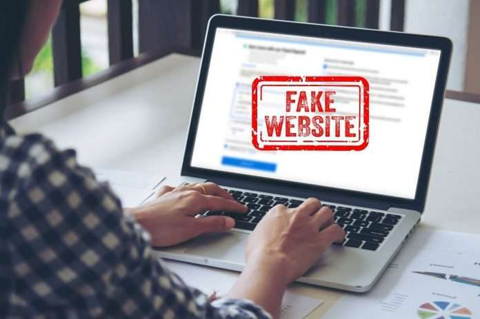 beware from fake online shopping website