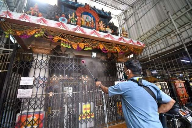 Temple Reopen: temples sanitized starting October 7 in state