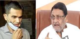 drug bust case nawab malik threat calls from rajasthan for allegations on sameer wankhede