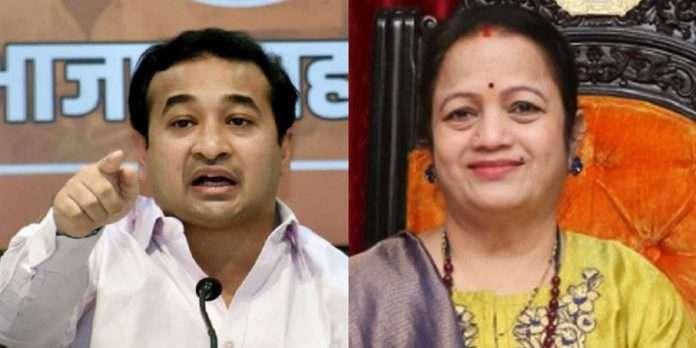 Nitesh Rane and Mayor Kishori Pednekar