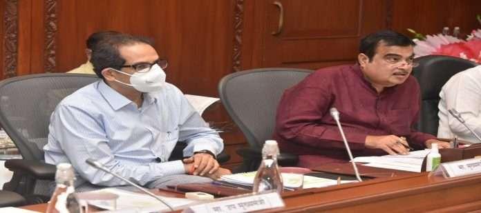 Nitin Gadkari and uddhav Thackeray